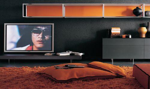 Estima - kolor pomarańczowy w pokoju