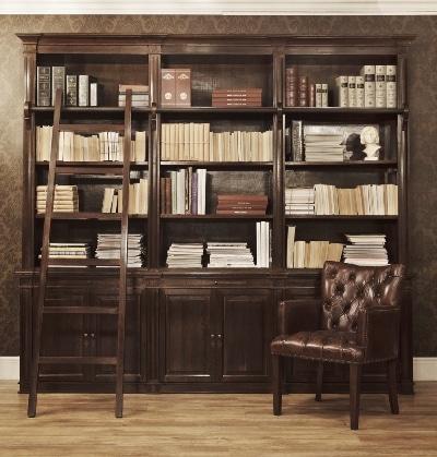 Biblioteka - projekt i wykonanie Fabryka Wnętrz