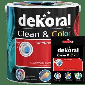 Farba Dekoral color clean