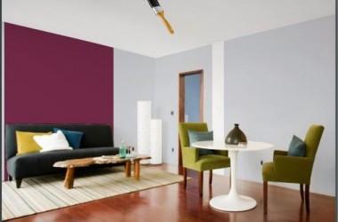 Ściana w kolorze Mus jagodowy – co obok?
