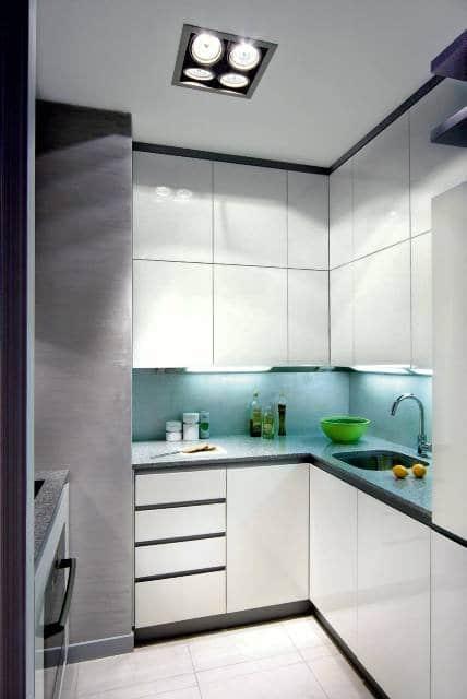 Mała kuchnia – sposoby jej urządzenia  Meble kuchenne -> Kuchnia Mala Wąska