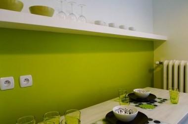 Zielony kolor do kuchni