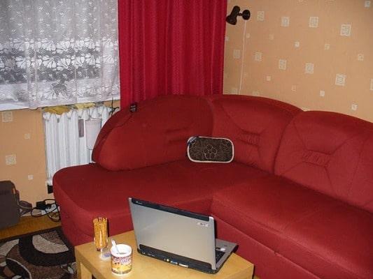 pokój przed remontem