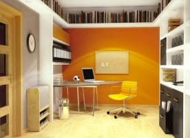 Biblioteka w pokoju