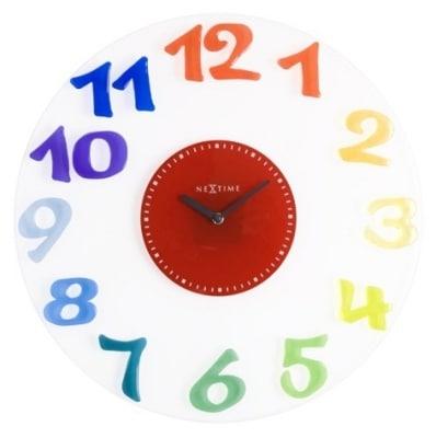 Zegar Flubber do pokoi dziecięcych