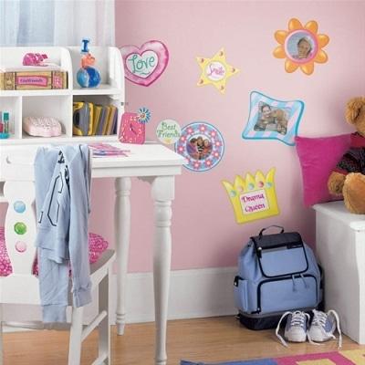 Różowy pokój dla dziewczynki - dodatki z kidstown.pl