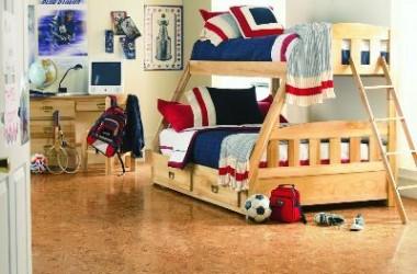 Podłoga korkowa – idealna do pokoju dziecka