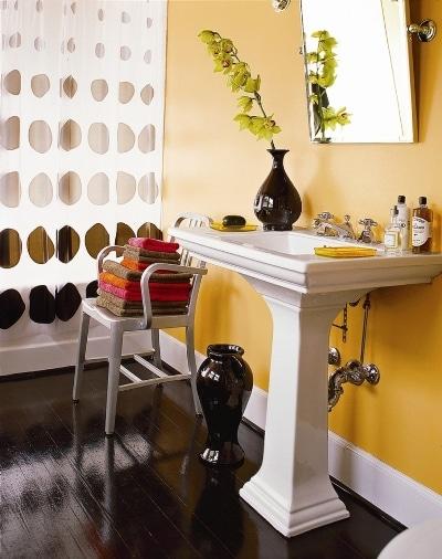 Łazienka malowana farbami Benjamin Moore