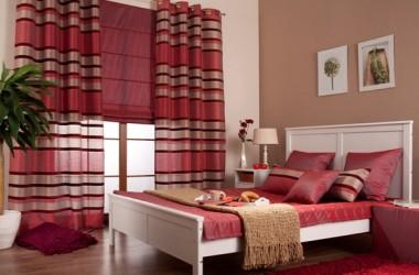 Czy zasłony i narzuta na łóżko mogą być z tej samej tkaniny?