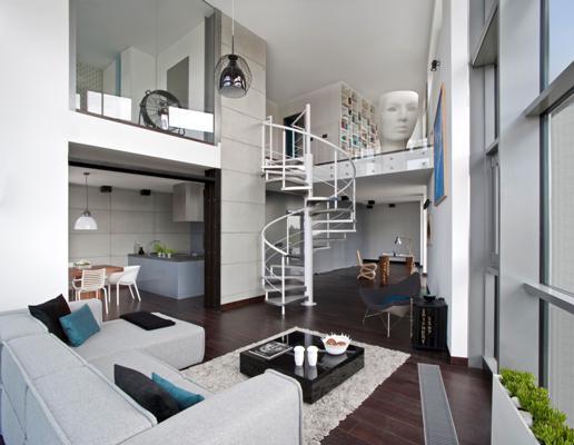 Loft w stylu industrialnym _ osiedle Qbik
