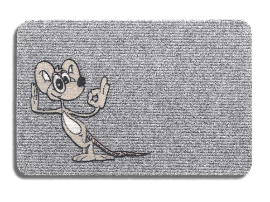 Wycieraczka bawełniana Mysz - Komfort