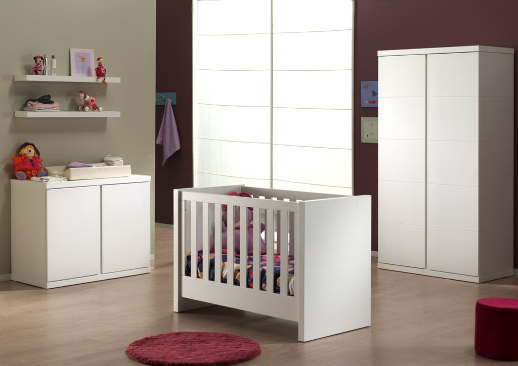Drewnostyl LARA BABY WHITE