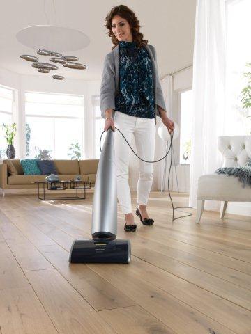 AquaTrio Philips - myje, odkurza i suszy podłogi