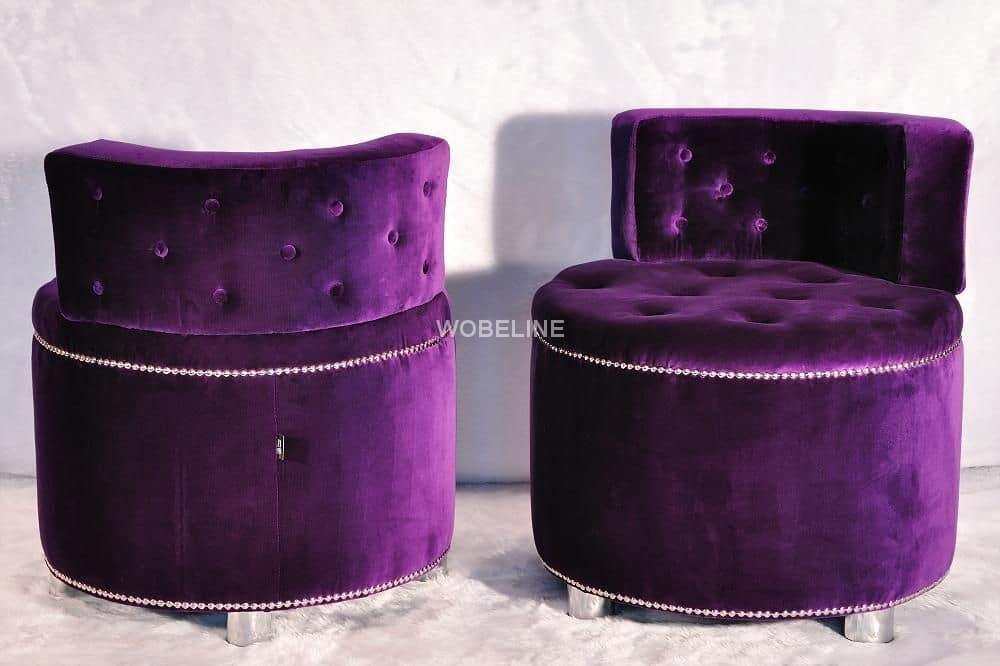 Fotele Glamour Wobeline
