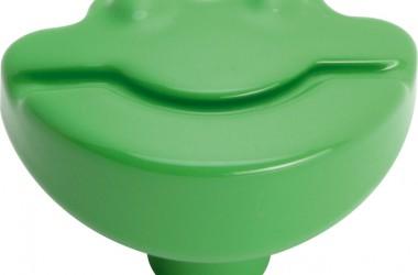Kolorowe żabki – uchwyty do mebli dla dzieci