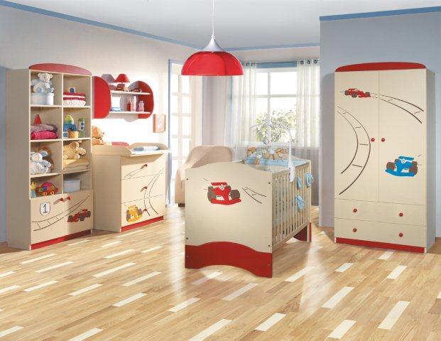 Mistrzowski Rajd - deska barlinecka w pokoju dziecka