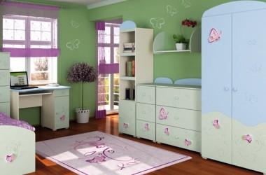 Wiosenne zmiany w pokoju dziecka