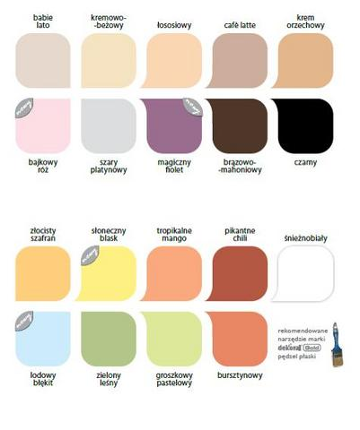 Paleta barw Akrylux
