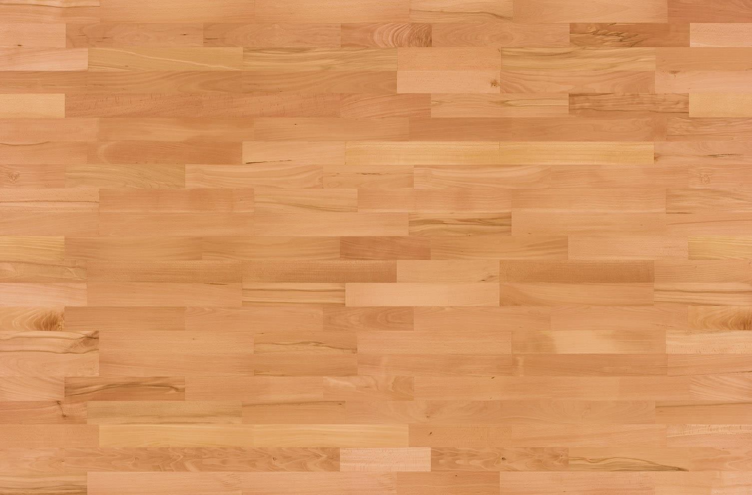 Buk parzony lakierowany - deska barlinecka