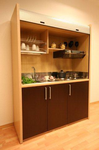 Kuchnia w szafie 4madesign