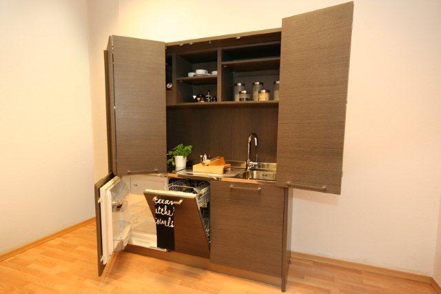Kuchnia zamykana w szafie 4madesign