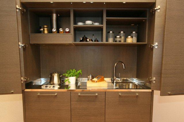 Kuchnia w szafie