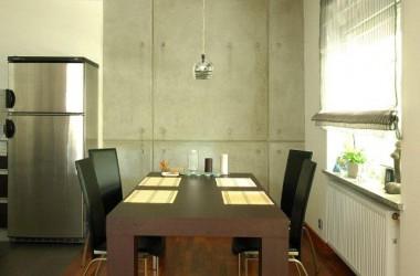 Modne ściany – beton, traweryn, stiuk, welur, przecierki…