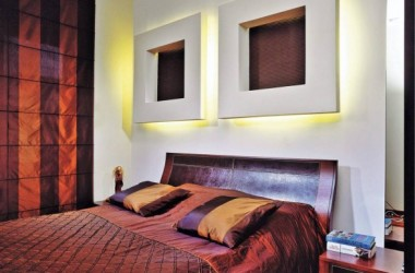 Sypialnia – pomysł na ścianę za łóżkiem
