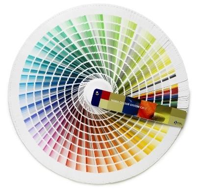 Wzornik kolorów farb marki Sigma