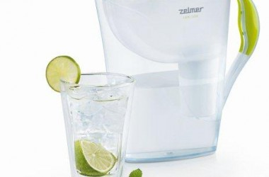 Lubisz czystą? Kup filtr dzbankowy do wody Zelmer