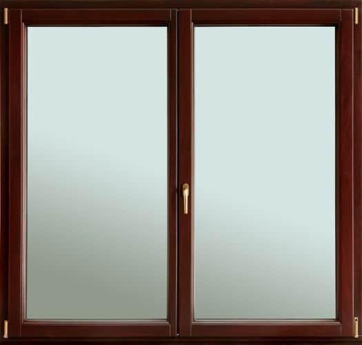 Okno drewniane Bertran wewnątrz