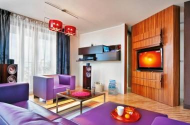 Miejsce na telewizor – salony ciekawie urządzone
