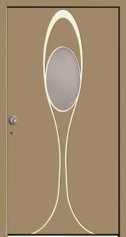 Donna Satinato - drzwi zewnętrzne firmy Bertrand