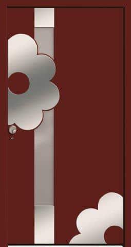 Drzwi zewnętrzne firmy Bertrand - model Sanitato