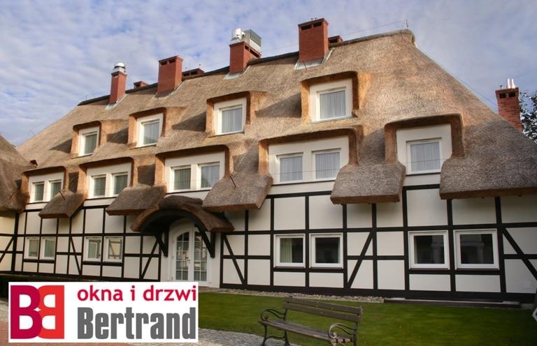 Okna firmy Bertrand zastosowane w tradycyjnym budownictwie