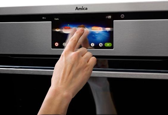 wyświetlacz piekarnika Amica Intergra Smart