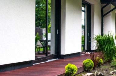 Drzwi do ogrodu – podnośno-przesuwne, bez progu