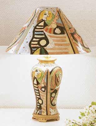 Dekoracyjna lampa stołowa z Dekoria.pl