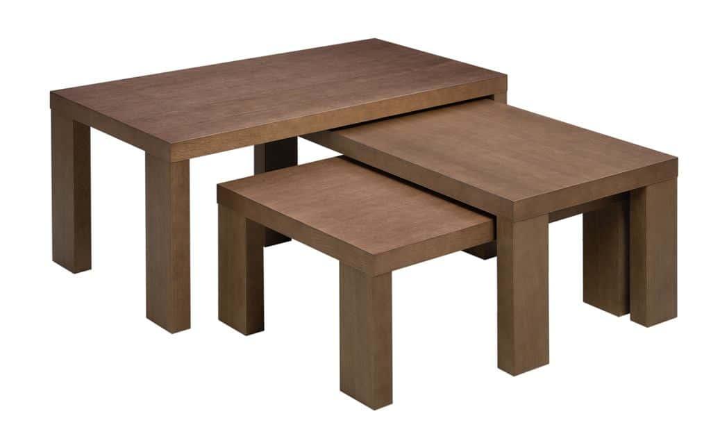 Komplet stolików Trio Paged Meble