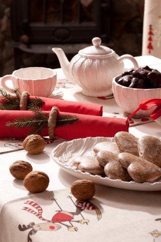 Tkaniny i dekoracje z kolekcji Christmas Dekoria,pl