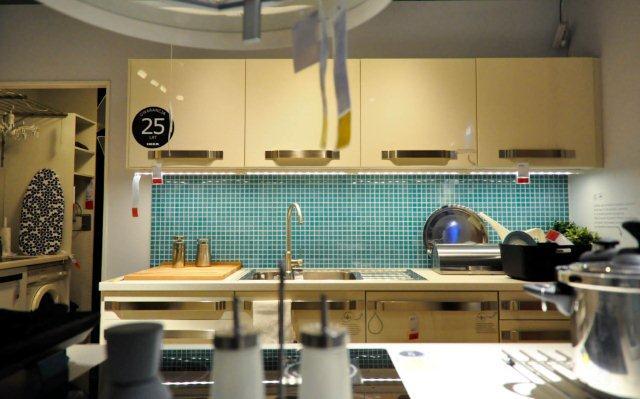 Pokój połączony z kuchnią  Porady architekta -> Kuchnia Spotkan Ikea Regulamin