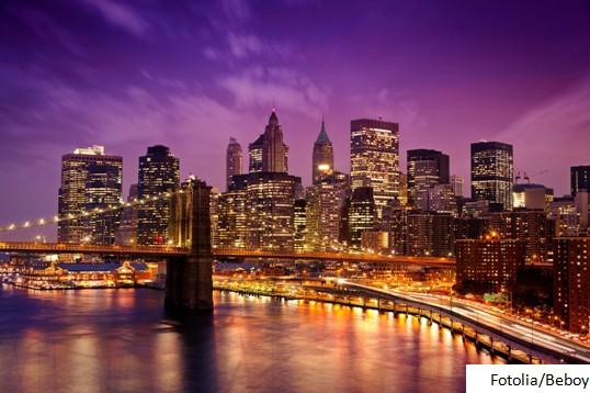 Nowy Jork w nocy - Fotolia