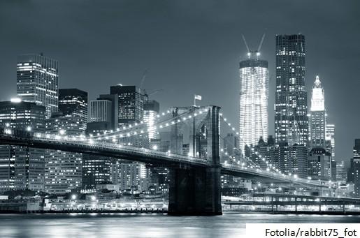 Nowy Jork  w wersji czarno-białej - Fotolia