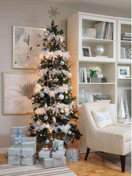 Klasyczna, perlista aranżacja świąteczna - propozycja firmy Para Panits