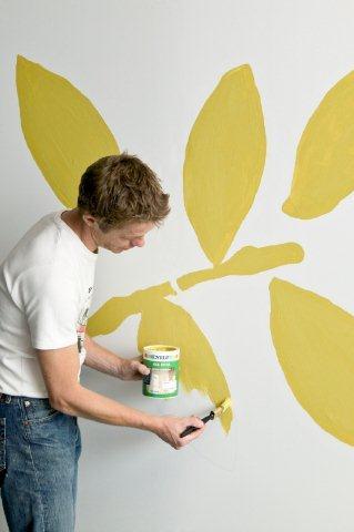 Malowanie szablonu