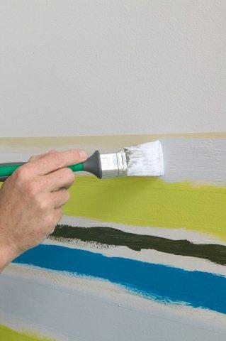 Malowanie pasów - krok 2