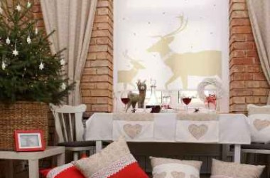 Święta na… oknie, czyli rolety z wzorami