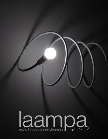 Laampa w wersji wiszącej