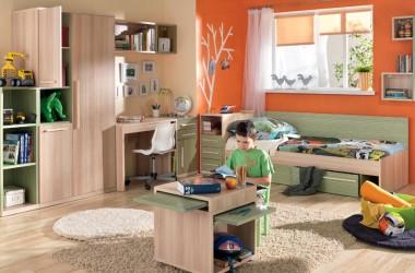 Umeblowanie pokoju dla małego chłopca