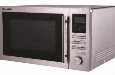 Kuchenki mikrofalowe z termoobiegiem, grillem i 10 programami gotowania